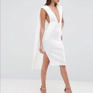 Nike roshe black and white asos dress