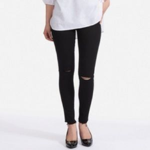 Uniqlo Ultra stretch mid rise skinny jeans
