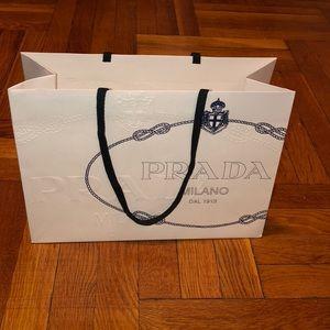 Prada Milano collectible shopping bag
