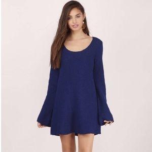 Tobi Navy Blue Sweater Dress