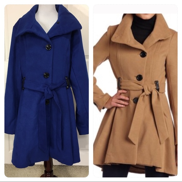 Blue High Low Jackets