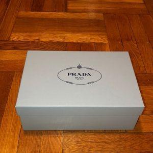 Prada Milano collectible box with tissue paper
