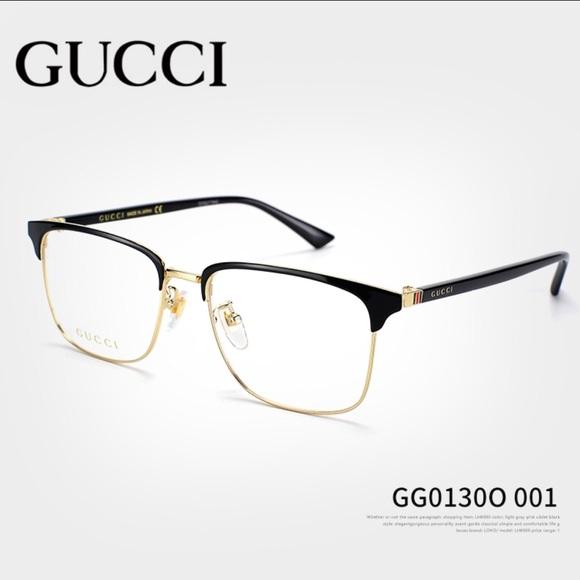 e85dae3759c Gucci 01300 Eyeglasses 55-13 Brand New💗