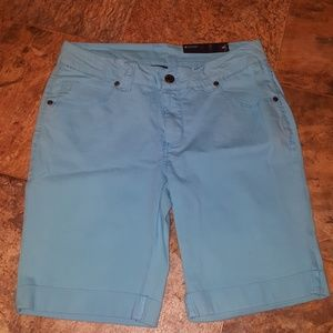 NEW LADIES DENIM BERMUDA SHORTS
