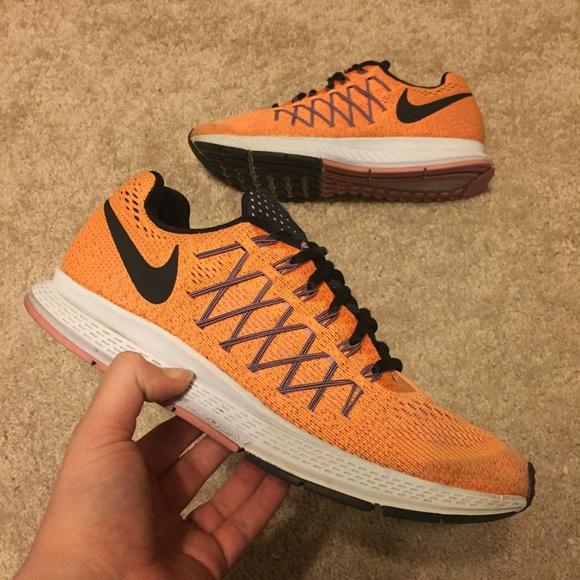 Nike Air Zoom Pegasus 32 Citrus Orange Womens 9