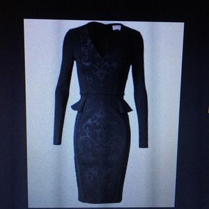 Stella McCartney Fitted Black Dress IT 40