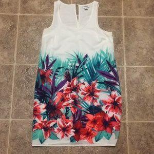 WHITE HAWAIIAN DRESS