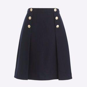 ❤️Host Pick❤️ NWT J.Crew Navy Wool Skirt