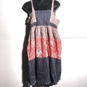 Kimchi & Blue Floral Dress Sz M