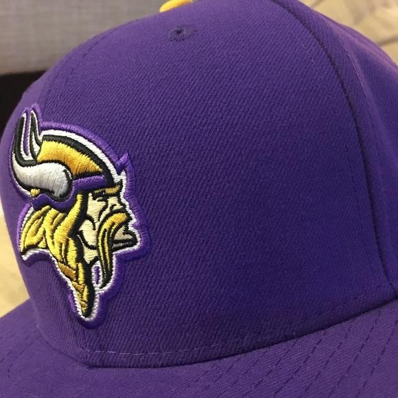 NWT New era NFL Minnesota Vikings hat size 7 1 4 5ee0b8fe935d