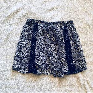 Flowy Floral Printed Skirt