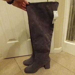 NWT H&M Gray Boots