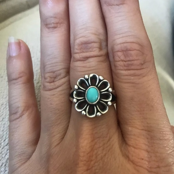 c7f54d30b James Avery Jewelry - James Avery de Flores with turquoise ring