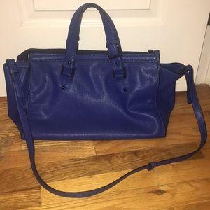 Zara Trafaluc Electric Blue Bag