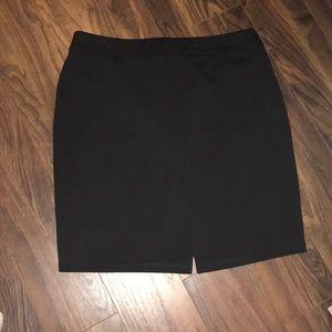 NY& Co Black Pencil Skirt