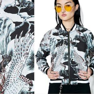 Stussy Go Figure Print Bomber Jacket