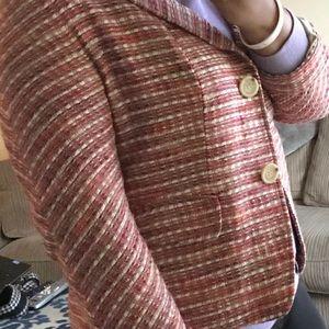 Checkered Blazer very Chanel esque