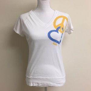 Tops - NWOT peace love UCLA tee