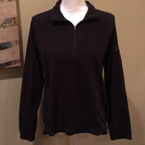 LL Bean Quarter Zip Fleece Pullover