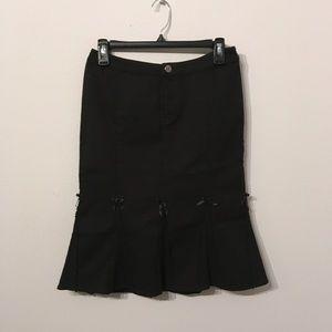 Betsey Johnson Retro Pinup Mermaid Skirt
