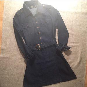 Dresses & Skirts - MG Originals Denim Jean Belted Dress
