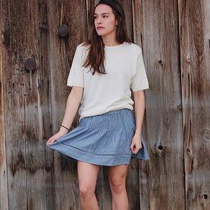 Aeropostale Denim Skirt. Size Small.