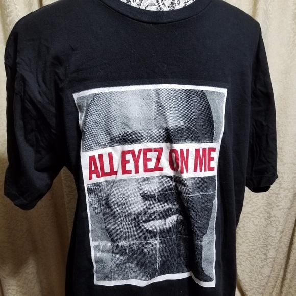 8ebbf6367321 Tupac Shirts | Bogo All Eyez On Me Shakur Black Graphic Tee | Poshmark