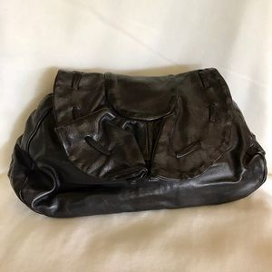 ✨EUC Jas M B for Anthropologie Leather Clutch Bag