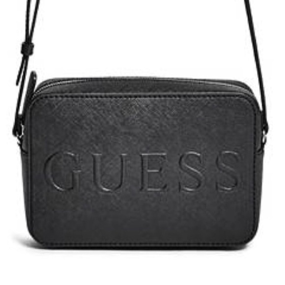 Guess Handbags - NWT Guess Chandler Saffiano Logo Crossbody 7a7ef9647d274