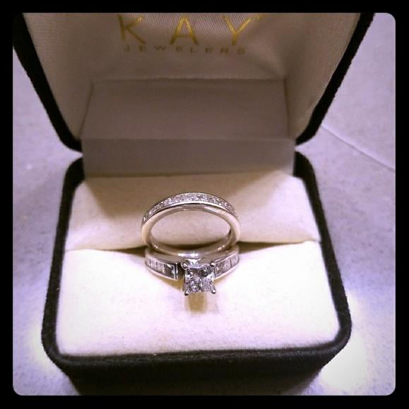 044cb407e Jewelry | Kay Jewelers Wedding Ring Set | Poshmark