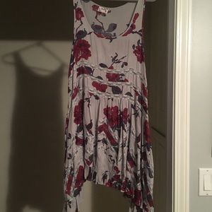Floral Free people trapeze slip
