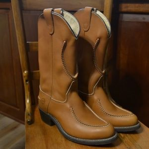/HP/ Doube H Boots Work Western Cowboy Boots, 7.5