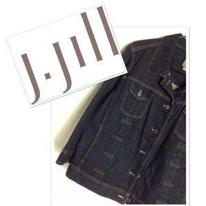 J. JI I L L. Jean Jacket