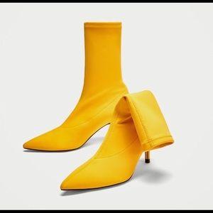 Zara Fabric Boots