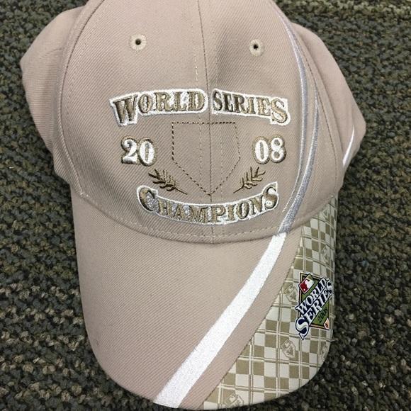 Nike 2008 World Series Champions Cap NEW