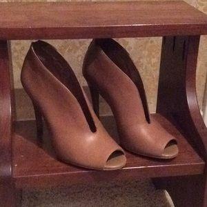 Halogen High Heel Peep-Toe Booties