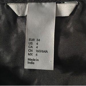H&M Skirts - H&M Black Sparkling Lace Skirt