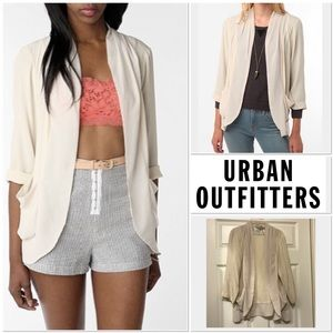 [Urban Outfitters] Kimchi Blue mixed fabric jacket