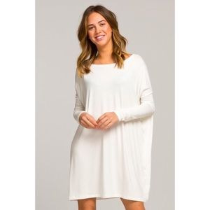 Ivory tunic dress