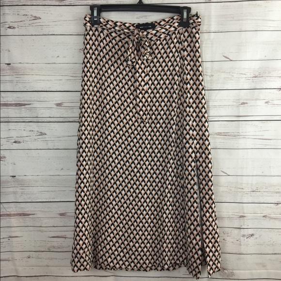 Who What Wear Skirts | Side Slut Tie Front Skirt Sz 2 New | Poshmark