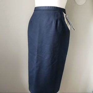 NWT Pendleton Virgin Wool Pencil Skirt