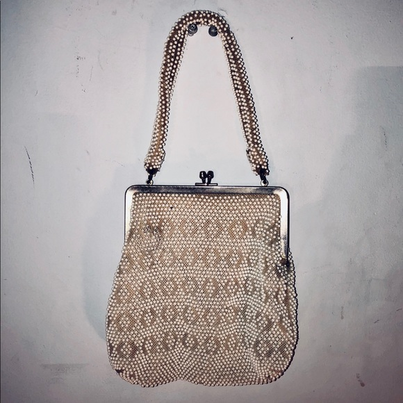 85d56c584 Bags | Small Vintage Beaded Purse | Poshmark