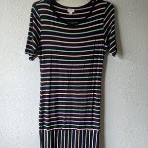 FINAL PRICE DROP! Sz Large, LuLaRoe Julia Dress!