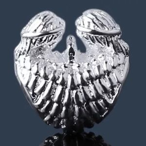 Jewelry - Silver Guardian Angels Love charm