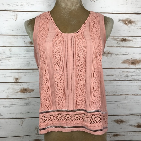Anthropologie Tops Vanessa Virginia Crochet Lace Blouse Poshmark