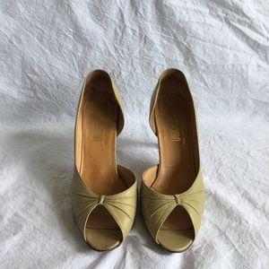 Vintage I. Magnin Peep-toe Heels