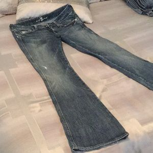 "7 For All Mankind Jeans - Sz 27 ""A"" pocket 7 jeans"