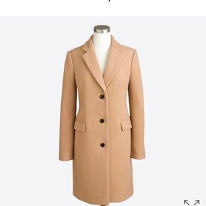 J Crew Factory Wool Topcoat