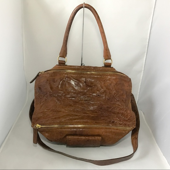 a050f042a2d Givenchy Handbags - Authentic Givenchy Large Pandora Pepe Brown