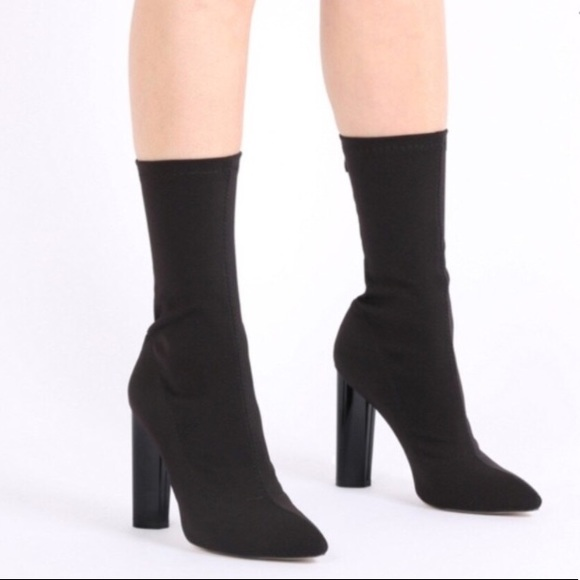 c50570a770 Shoes | Public Desire Cayden Sock Boots | Poshmark